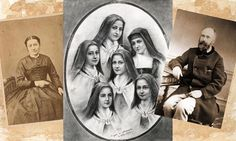Sainte Therese de L'enfant Jesus. Her sisters , father and mother.