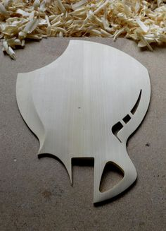 """Day 3 of the new  #spitfire"""" #mandolin carve. Soundboard 90% complete with """"scroll"""", f-hole and bracing."""
