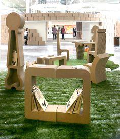 Trendy Cardboard Furniture
