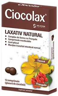 Ciocolax : cel mai eficient remediu impotriva constipatiei. Laxativ 100% natural