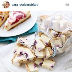 Repost from @sara_ourbestbites who freeze dried cheesecakes bites. Love this! #longliveyourfood #harvestright #foodpreservation
