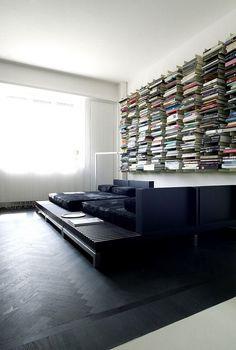*floating books