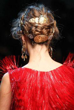 Dolce & Gabbana Spring 2014 Ready-to-Wear Fashion Show Details