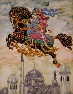 Arabian Nights - Front Cover Illustration