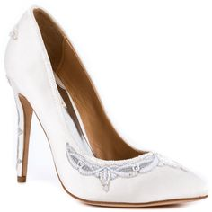 Balance - White Satin Badgley Mischka $224.99
