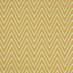 Chevron Tall Vase | Mustard Tall Chevron Fabric - contemporary - fabric - by Caitlin ...