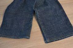 Juffrouw Kersjes: Tuto: Broek inkorten en originele zoom behouden... Hemming Jeans, Sewing, Womens Fashion, Clothes, Crafts, Vape Tricks, Cool Things, Dressmaking, Fashion Styles