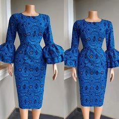 2019 Best of Ankara Short Gown Styles ankara short gown styles. from Diyanu - Ankara Styles Trends - Latest African Fashion Dresses, African Dresses For Women, African Print Dresses, African Print Fashion, African Attire, Ankara Fashion, Africa Fashion, African Prints, African Fabric