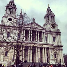 Cathedral, Lights, London, City, World, Building, Travel, Viajes, Buildings