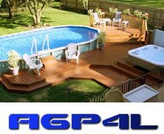 above ground pools - Google Search