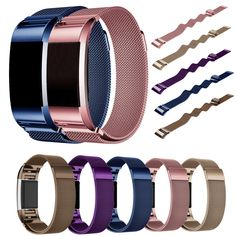 CLAUDIA Hot Sale Milanese Stainless Steel Watch Band Strap Bracelet For Fitbit Charge 2 Fabulous High Quality relogios Fitbit Charge, Fitbit Bands, Ebay Watches, Cheap Bracelets, Wearable Device, Smart Bracelet, Stainless Steel Mesh, Watch Bands, Jewelry Watches