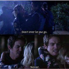 Hanna and Caleb. Pretty Little Liars Season 6 Episode 1