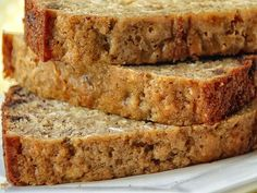 Banana Chocolate Chip Oatmeal Bread ~ great twist on an old classic...