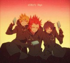 Tags: Anime, Fanart, Roxas, Organization XIII, Kingdom Hearts II