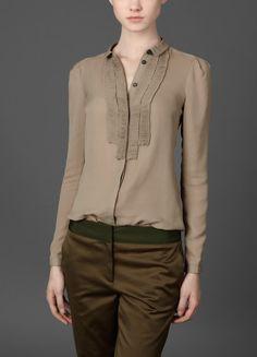 BURBERRY Silk Georgette Shirt