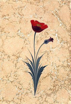 . Ebru : Betül Hut Boyut : 35x50 Gelincik Ebru Art, Water Paper, Gold Ceiling, Water Marbling, Turkish Art, Marble Art, Large Painting, Botanical Illustration, Islamic Art
