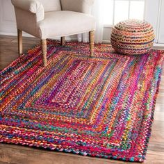 AmazonSmile: nuLOOM Accent Rugs, 5' x 8', Multicolor: Home & Kitchen