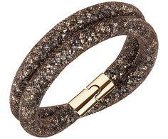 Stardust Brown Double Bracelet