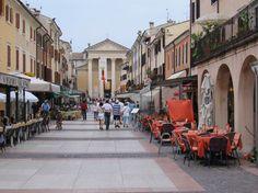 Bardalino, Lake Garda.   Our beautiful honeymoon