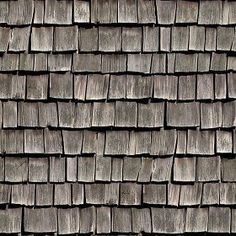 [ Mapping ] Shingle Roof Textures contains 49 texture & mappings which are high resolution images. Tiles Texture, Wood Texture, Spanish Tile Roof, Jaali Design, Wood Shingles, Roof Types, Seamless Textures, 3d Visualization, Roof Design