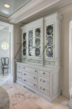 painted china closet - Google Search