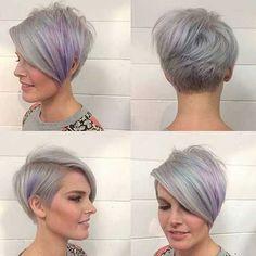 17.Pixie Haircut for Gray Hairs