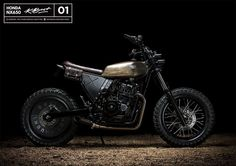 "caferacerpasion.com Honda Dominator NX650 #StreetTracker ""Brap One"" - kBuilt [TAGS] #caferacerpasion #honda #caferacersofinstagram #caferacerxxx #caferacerporn #caferacergram #custommotorcycles"