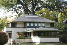 Get yourself to River Forest, Illinois where you can see the J. Kibben Ingalls House at 562 N. Keystone from 1909. #globalphile #travel #tips #destination #architecture #franklloydwright #lonelyplanet #art #design http://globalphile.com/our-favorite-frank-lloyd-wright-architecture/