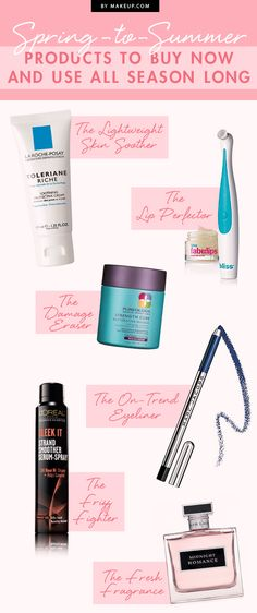 Spring-to-Summer: Products to Buy Now and Use All Season Long // #beauty