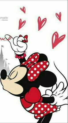 Wallpaper Minnie e Mickey!