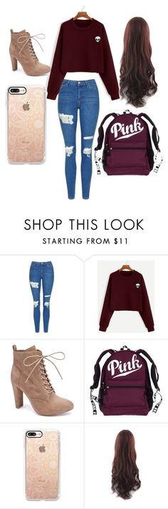 """""""Untitled #62"""" by serenityreigndavis on Polyvore featuring Topshop, Wild Diva and Casetify"""