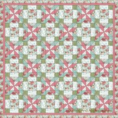 Beautiful Blossom Fragrance Quilt