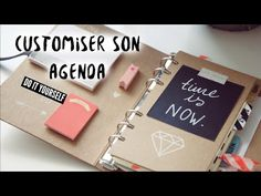 DIY BACK TO SCHOOL // Customiser son AGENDA - YouTube