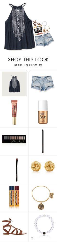 """~just performed in an opera! RTD!~"" by lindsaygreys ❤ liked on Polyvore featuring Abercrombie & Fitch, Bershka, Too Faced Cosmetics, Benefit, Forever 21, Tiffany & Co., Burt's Bees, Alex and Ani, Gianvito Rossi and Michael Kors"
