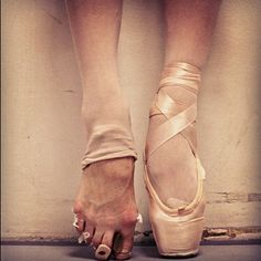 feet of a dancer. #feet #foot #pointeshoe #pointe #shoe #ballet # ...