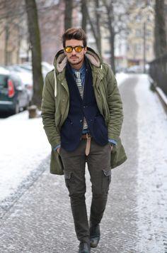 men's Street Style:Mariano Di Vaio