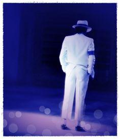 Michael Jackson, as the Smooth Criminal, in Moonwalker.