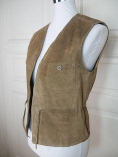 German Vintage Trachten Vest, Traditional Bavarian Charivari Waistcoat, German Clothing, European Octoberfest Vest: Size M (38 US/UK)
