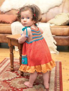 Christabel and Carla - Free Knitting Patterns - Kids Patterns - Let's Knit Magazine