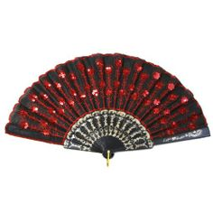 Koyal Wholesale 10-Pack Decorative Vintage Sequin Embroidered Fan, Red Koyal Wholesale,http://www.amazon.com/dp/B00GX62ENG/ref=cm_sw_r_pi_dp_Pcimtb174K80BKF0