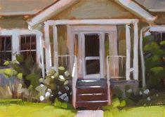 """Home Sweet Home - SOLD"" - Original Fine Art for Sale - © Carol Marine"