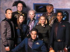 Set on a gigantic diplomatic space station, Babylon 5 sees its humans mix with Minbari, Vorlons, Centauri and Narn, as well as representatives of the Non-Aligned Worlds