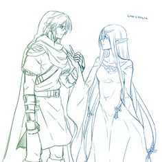 Link and Hylia you have no idea how much I ship you.
