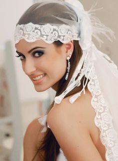 Bandana noiva