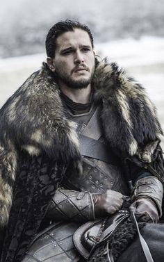 Jon Snow (Kit Harington) in Game of Thrones season 6, episode 9, Battle of the Bastards