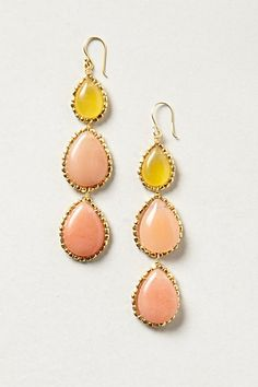 Gumdrop Trio Earrings #anthropologie