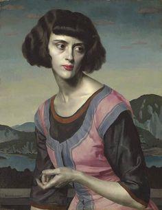 Nadia (c.1921) Gerald Leslie Brockhurst