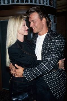 WATCH: See this Touching 1994 Video of Patrick Swayze Dancing with and His Wife, Lisa Niemi Más Lisa Niemi, Hollywood Couples, Celebrity Couples, Hollywood Stars, Celebrity Weddings, Classic Hollywood, Dirty Dancing, Patrick Swayze Dancing, Patrick Swayze Wife
