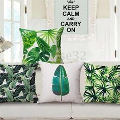 """With the Pantone color of the year being """"Greenery"""" now is the time to decorate your home with all kinds of lovely green details."""