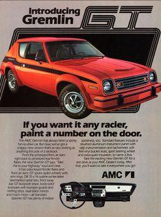 1978 AMC Gremlin GT. https://plus.google.com/+JohnPruittMotorCompanyMurrayville/posts